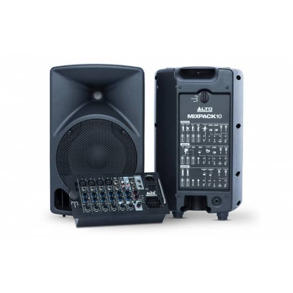 Alto Professional MixPack10 Portable sound system