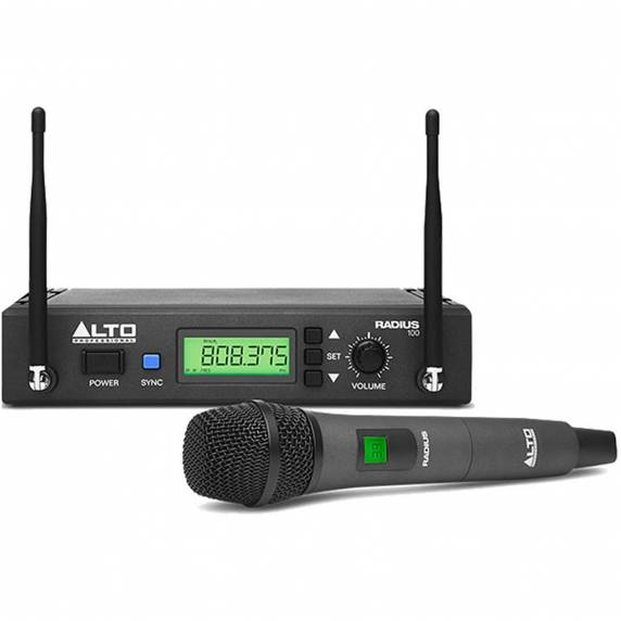 Alto Radius 100 Handheld Wireless Microphone System