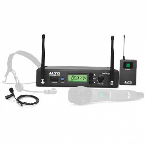 Alto Radius 100 Wireless Lavalier Microphone System