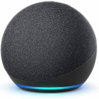 Inta Audio Amazon Echo Dot 4th Gen Smart Speaker - Charcoal