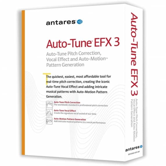 Antares Auto Tune EFX3 Pitch Correction (Serial Download)