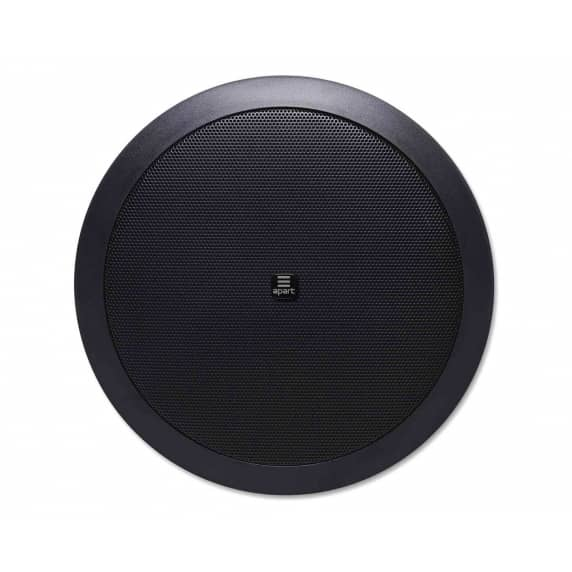 "Apart CM608-BL 6.25"" 2-Way Low Impedance Ceiling Speaker - 8 ohm @ 60W"