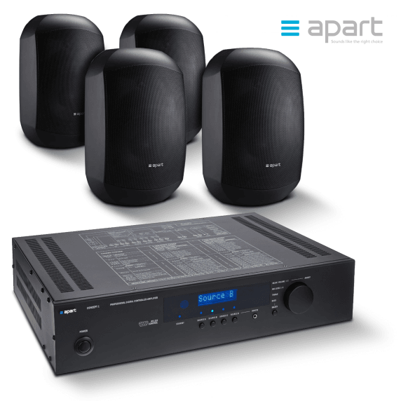 Apart Meeting Set C-BL | Complete Meeting Room Sound System