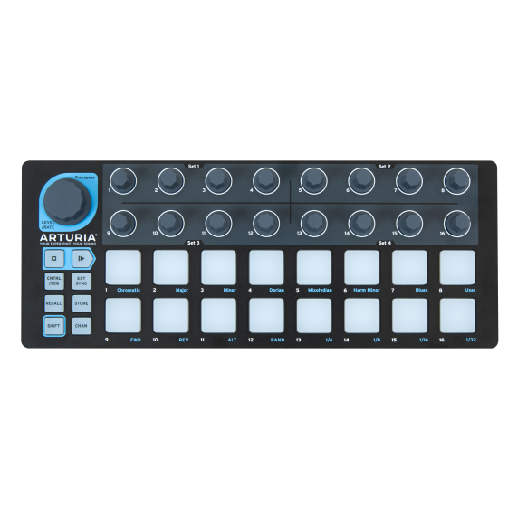 Arturia BeatStep Step Sequencer - LIMITED BLACK EDITION