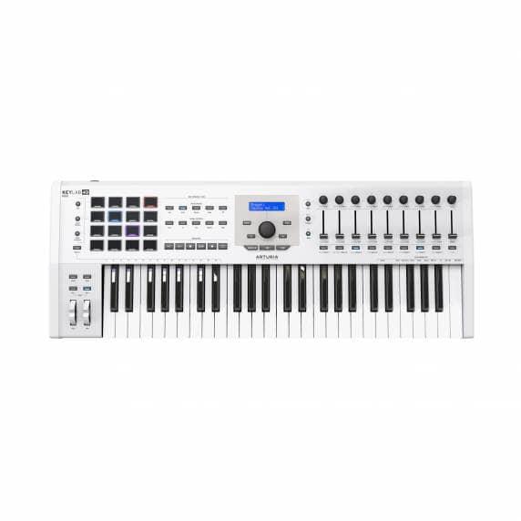 Arturia Keylab 49 MKII Controller Deluxe Keyboard - White