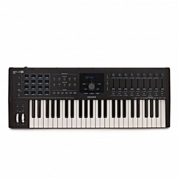 Arturia Keylab 49 MKII MIDI Controller Keyboard - Black