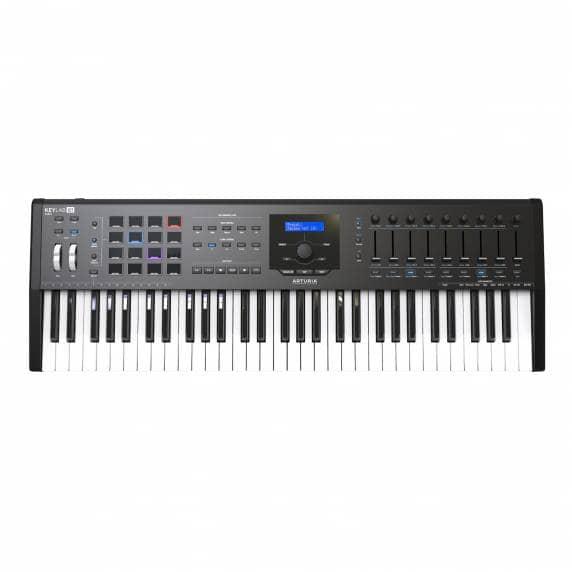 Arturia Keylab 61 MKII Controller Deluxe Keyboard - Black
