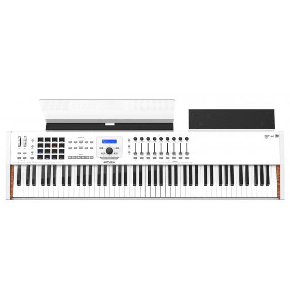Arturia KeyLab 88 MKII Controller Supreme Keyboard - White