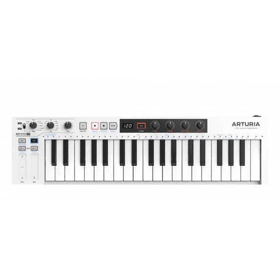 Arturia Keystep 37 Key MIDI Keyboard USB - White