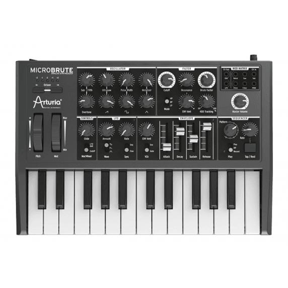 Arturia Microbrute Pure Analogue Synth MIDI/USB - Black