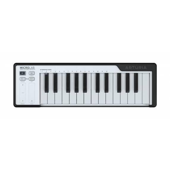Arturia Microlab 25 Note MIDI USB Keyboard - Black
