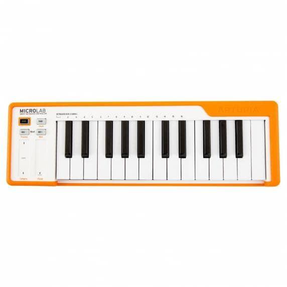 Arturia Microlab 25 Note MIDI USB Keyboard - Orange