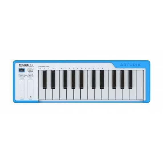 Arturia Microlab 25 Note USB MIDI Keyboard - Blue