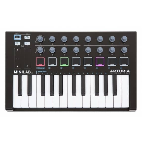 Arturia MiniLab MIDI controller MKII Black Edition