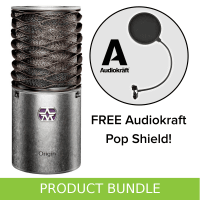 Aston Microphones Aston Origin Condenser Microphone with FREE AudioKraft Pop Shield