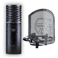 Aston Microphones Aston Spirit Black Bundle inc. Shock Mount & Pop Shield