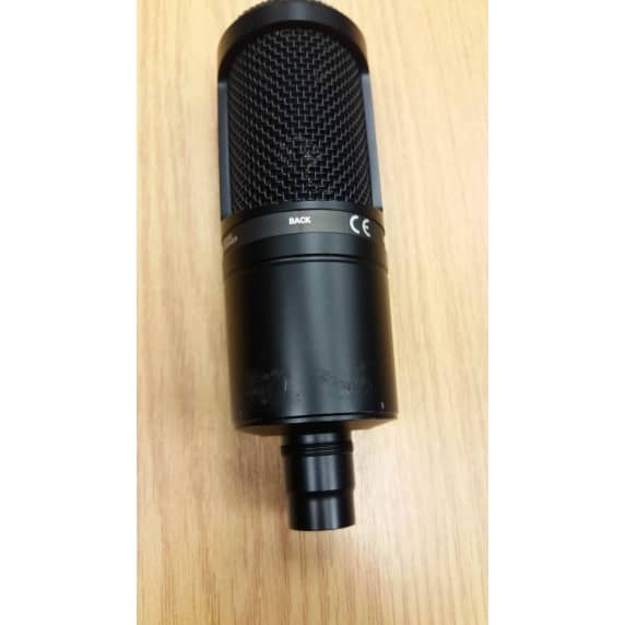 Audio Technica At2020 Condenser Microphone Slightly