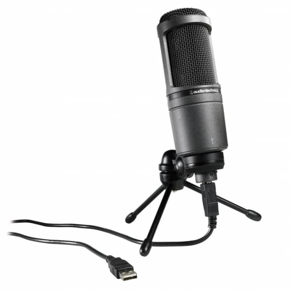 Audio Technica AT2020 USB+ Cardioid Condenser USB Microphone - no box