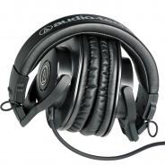 Audio-Technica ATH-M30X Professional Headphones - Black