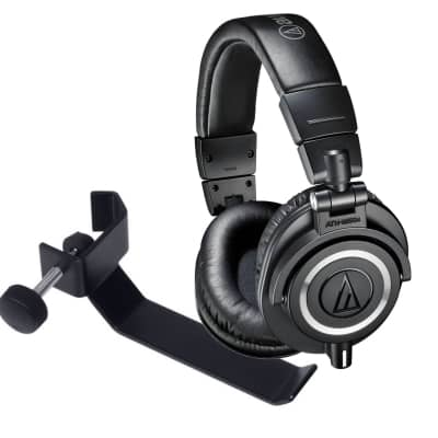audio technica ath m50x headphones headphone holder. Black Bedroom Furniture Sets. Home Design Ideas
