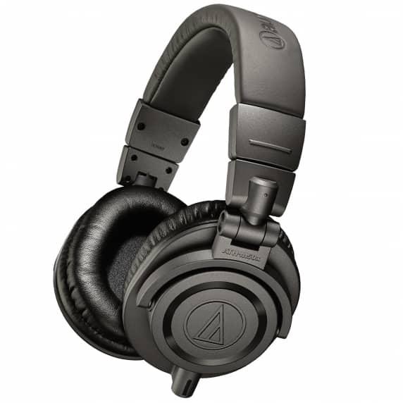 Audio Technica ATH-M50xMG Matte Gray Monitor Headphones - B-STOCK (NO 1.2M STRAIGHT CABLE)