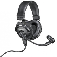 Audio Technica BPHS1 Broadcast Stereo Headset with Boom Microphone - B-STOCK