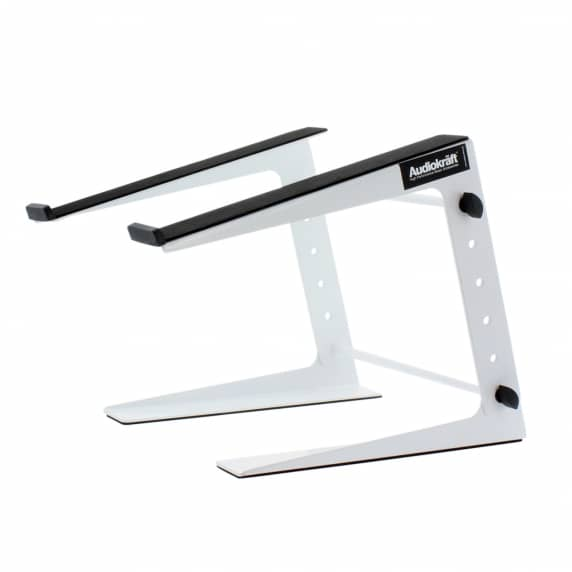 AudioKraft DJS-01 White DJ Laptop Stand