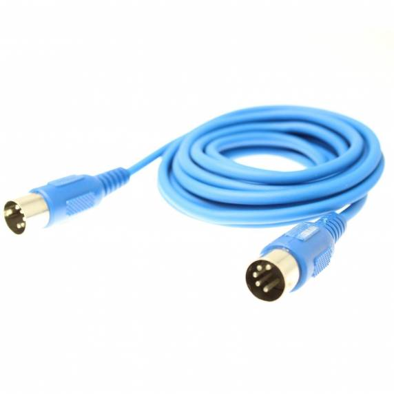 AudioKraft - Midi Cable 3m Blue