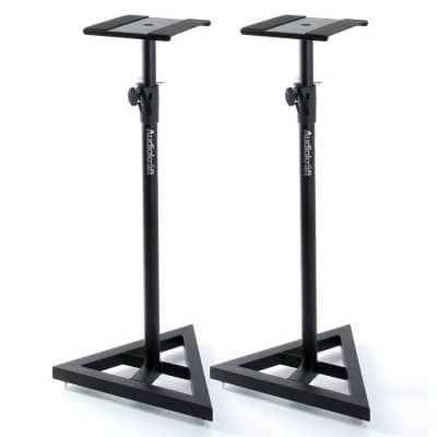 audiokraft ms5 studio monitor stands audiokraft from inta audio uk. Black Bedroom Furniture Sets. Home Design Ideas
