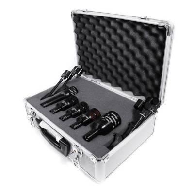 audix dp5a 5 piece drum microphone package. Black Bedroom Furniture Sets. Home Design Ideas