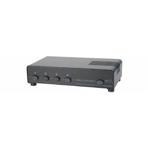 AV Link 4 Way Speaker Selector Switch
