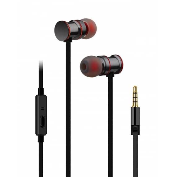 AV Link EMHF1 Premium In-Ear Headphones (Black)