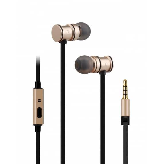 AV Link EMHF1 Premium In-Ear Headphones (Gold)