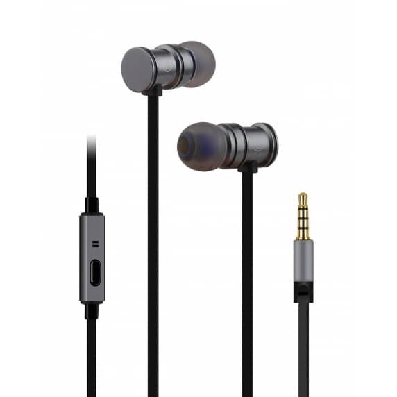 AV Link EMHF1 Premium In-Ear Headphones (Grey)