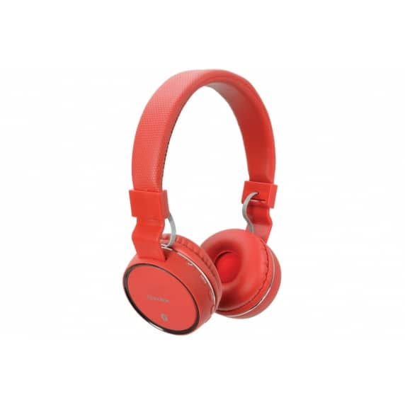 AV Link PBH10-RED Wireless Bluetooth Headphones - Red