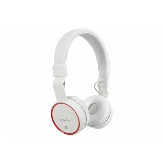 AV Link PBH10 Wireless Bluetooth Headphones (White)