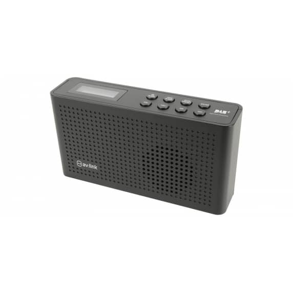 AV Link wireless Portable DAB+ and FM Radio Player