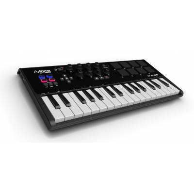 axiom air mini 32 usb midi keyboard and pad controller. Black Bedroom Furniture Sets. Home Design Ideas