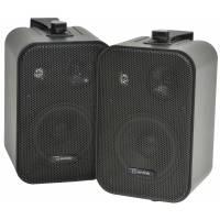 AV Link Background Speakers Black 30w / 8 Ohm - Black (Pair) - B Stock