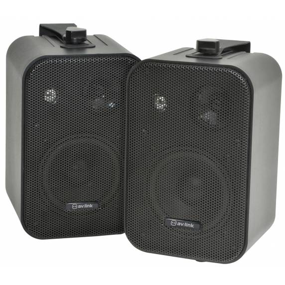 Background Speakers Black 30w / 8 Ohm - Black (Pair)