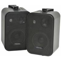 AV Link Background Speakers Black 30w / 8 Ohm - Black (Pair)