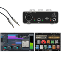 Inta Audio Beginner Guitar Recording and Editing Bundle