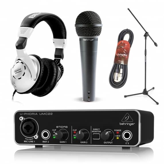 Beginner Music Recording and Production Bundle