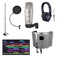 Inta Audio Beginner Vocal Recording and Editing Bundle