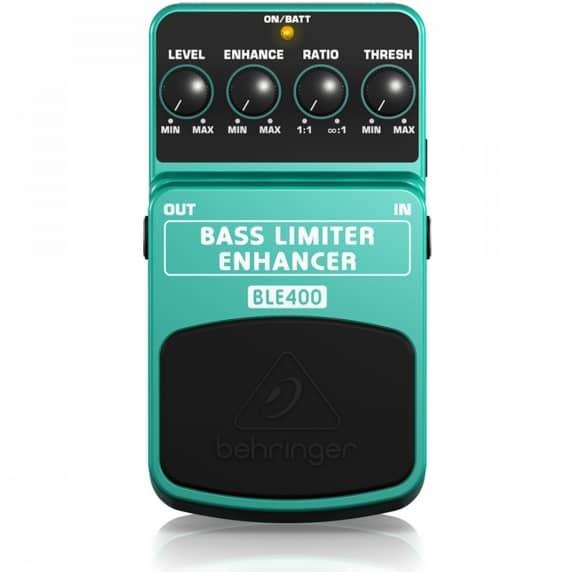 Behringer BLE-400 Bass Limiter Enhancer Guitar Pedal