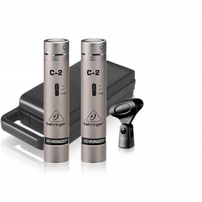behringer c 2 studio condenser microphone pair behringer from inta audio uk. Black Bedroom Furniture Sets. Home Design Ideas