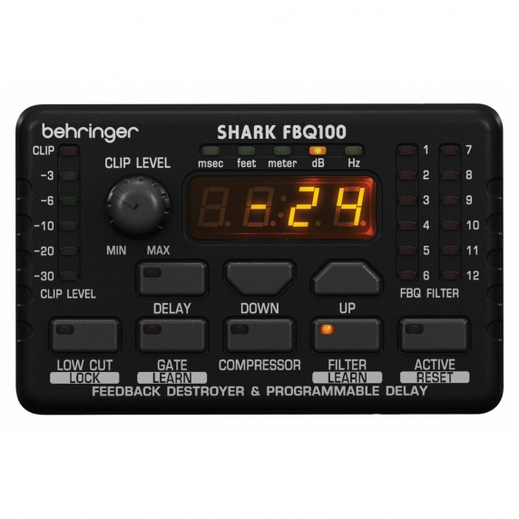 Behringer FBQ100 SHARK Feedback Destroyer