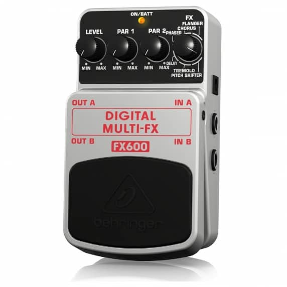 Behringer FX600 Digital Multi FX Guitar Pedal