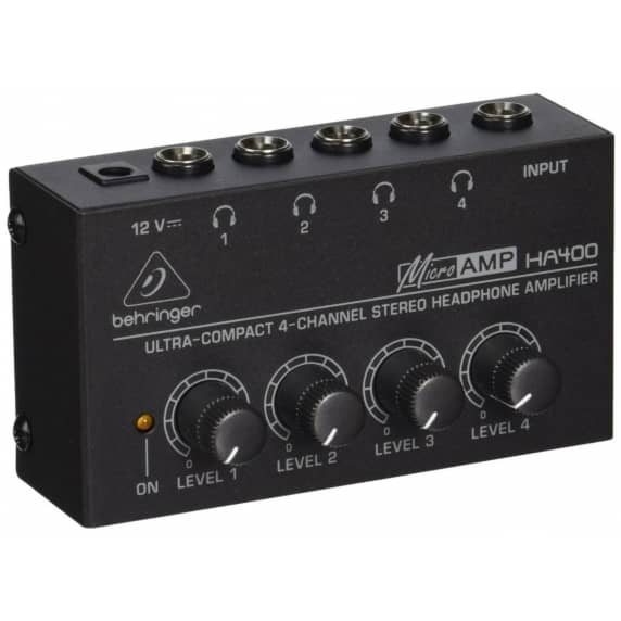 Behringer HA400 Micro Amp Headphone Amplifier