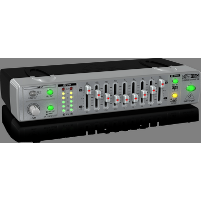 Behringer MINI FBQ800 Ultra-Compact Graphic EQ with FBQ
